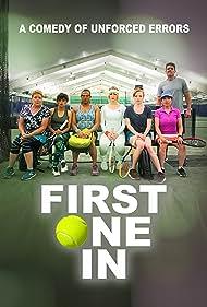 Karina Arroyave, Catherine Curtin, Emy Coligado, Kat Foster, Josh Segarra, Alana O'Brien, and Aneesh Sheth in First One In (2020)