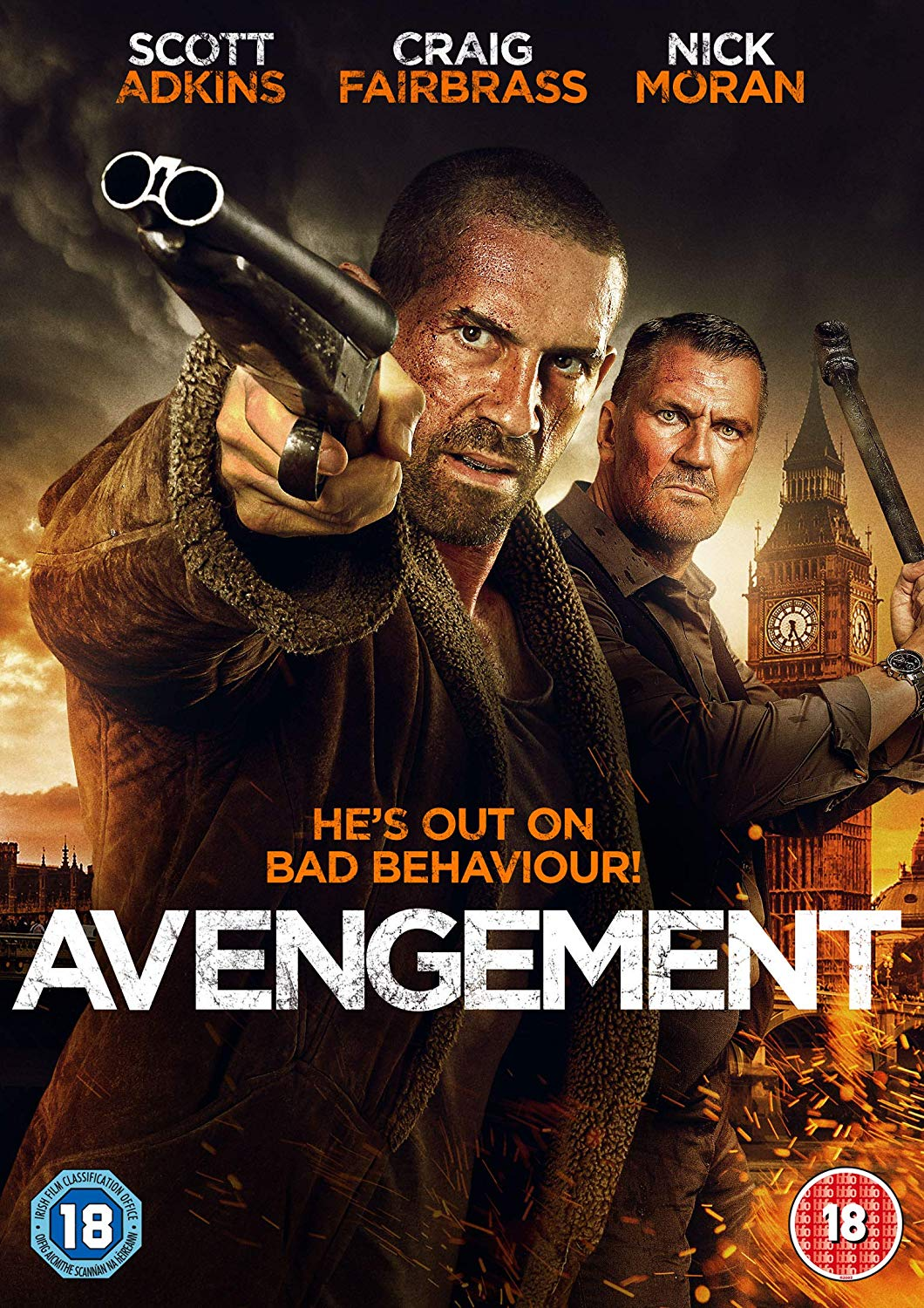 Avengement 2019 Hindi ORG Dual Audio 500MB BluRay 720p HEVC x265 ESubs