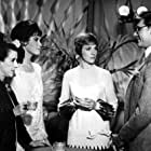Julie Andrews, Mary Tyler Moore, James Fox, and Beatrice Lillie at an event for Thoroughly Modern Millie (1967)