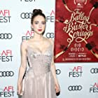 Zoe Kazan at an event for The Ballad of Buster Scruggs (2018)