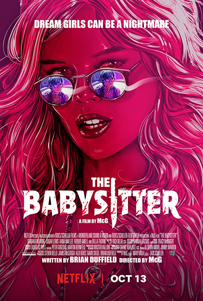 The Babysitter 2017 Hindi Dual Audio 720p HDRip 612MB Download