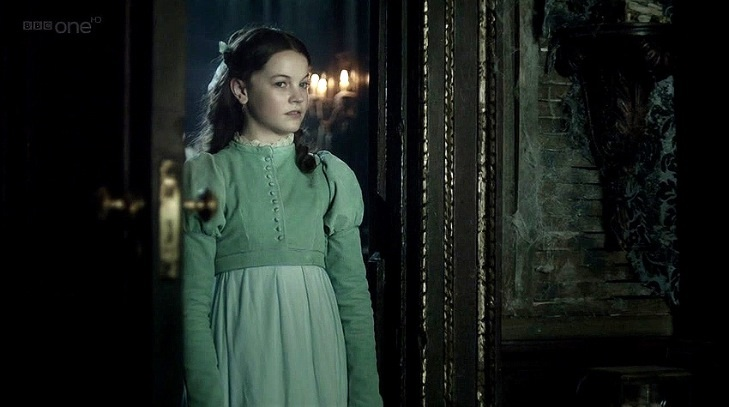 Young Estella in Great Expectations