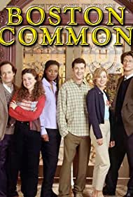 Traylor Howard, Hedy Burress, Anthony Clark, Steve Paymer, Tasha Smith, and Vincent Ventresca in Boston Common (1996)