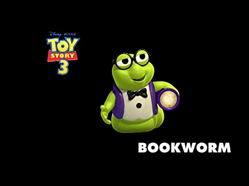 Toy Story 3 -- Bookworm Reveal