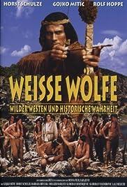 Weisse Wölfe Poster