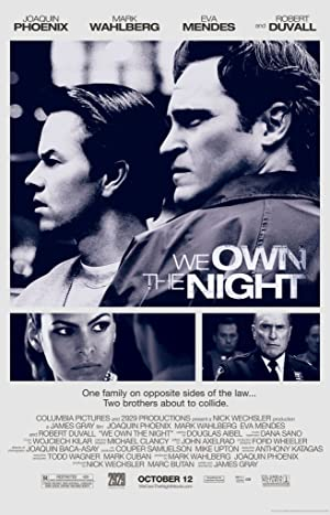 We Own the Night poster