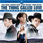 Sandra Bullock, River Phoenix, Samantha Mathis, and Dermot Mulroney in The Thing Called Love (1993)