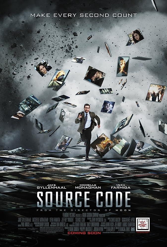 Source Code 2011 x264 720p BluRay Dual Audio English Hindi Movie