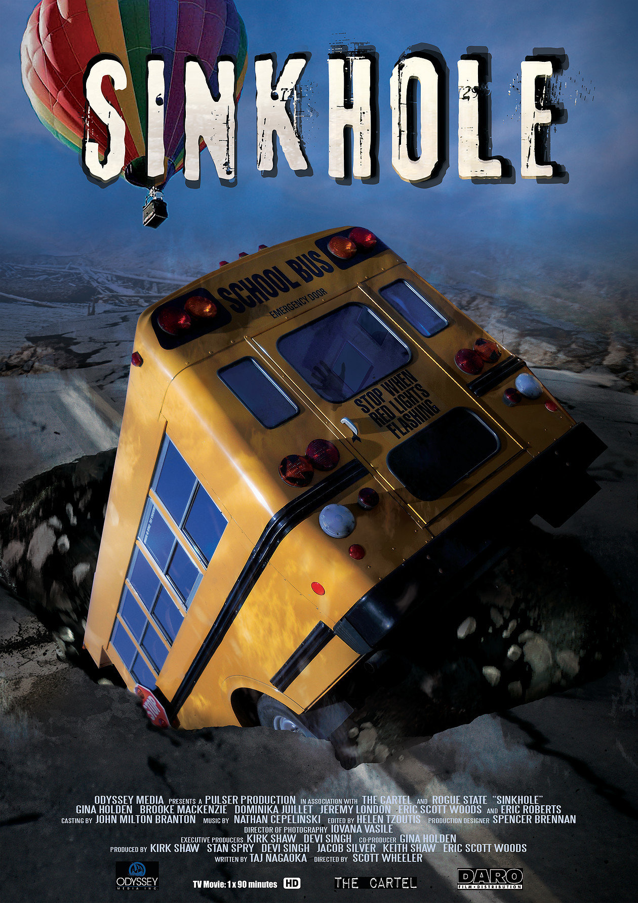 Sink Hole (2013) Hindi Dubbed 720p HDRIp Esubs DL