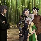 Anne Heche, P.J. Byrne, Philece Sampler, and Mindy Sterling in The Legend of Korra (2012)