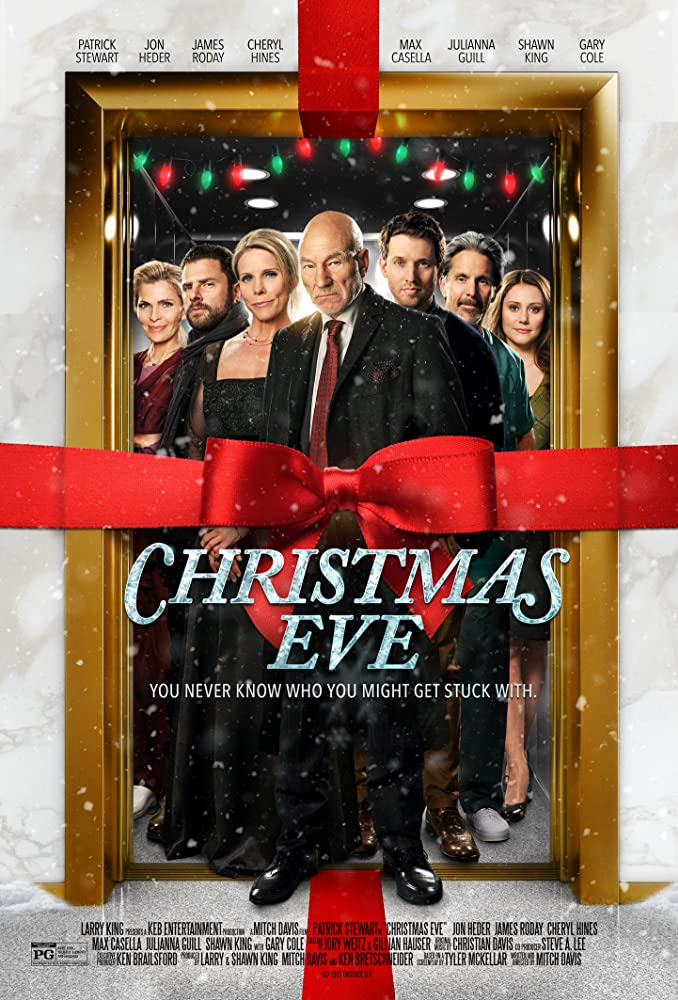 Patrick Stewart, Gary Cole, Shawn Ora Engemann, Cheryl Hines, James Roday, Jon Heder, and Julianna Guill in Christmas Eve (2015)