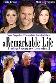 Daphne Zuniga, Chris Bruno, and Marie Avgeropoulos in A Remarkable Life (2016)