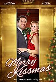 Brant Daugherty and Karissa Lee Staples in Merry Kissmas (2015)