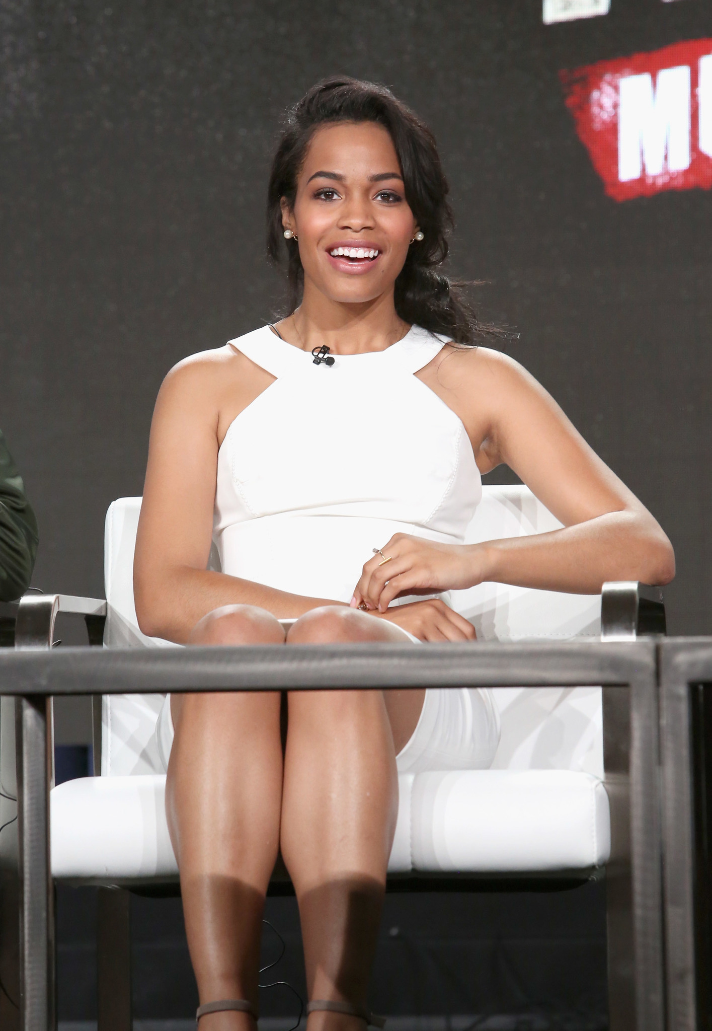 Tiffany Mack at an event for Halt and Catch Fire (2014)