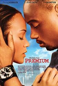 Dorian Missick and Zoe Saldana in Premium (2006)