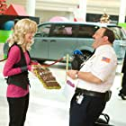 Kevin James and Jayma Mays in Paul Blart: Mall Cop (2009)