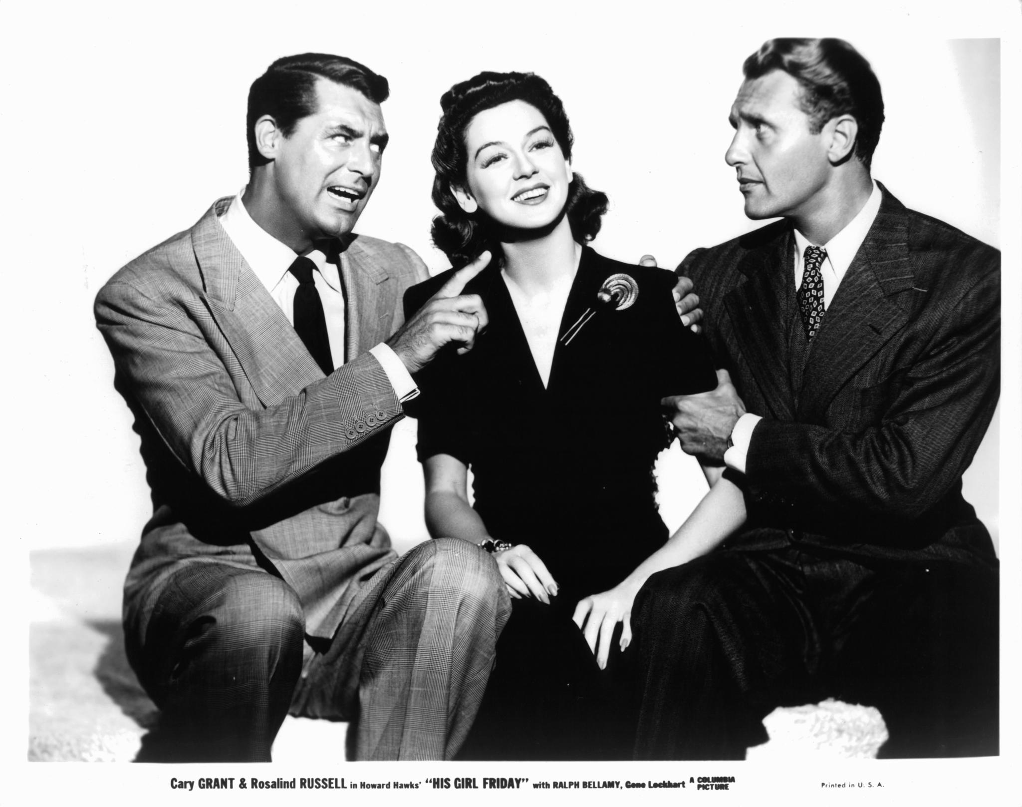 His Girl Friday (1940) - Photo Gallery - IMDb