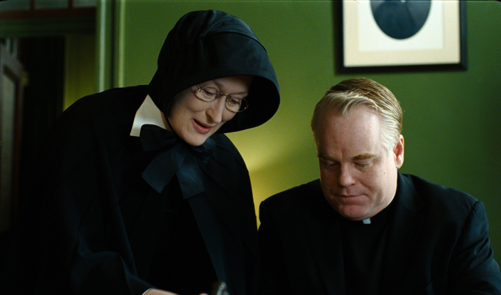 Philip Seymour Hoffman and Meryl Streep in Doubt (2008)