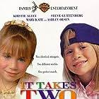 Kirstie Alley, Steve Guttenberg, Ashley Olsen, and Mary-Kate Olsen in It Takes Two (1995)