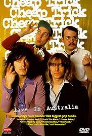 Cheap Trick: Live in Australia Poster