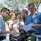 Jeff Bridges, Scott Cooper, and Maggie Gyllenhaal in Crazy Heart (2009)