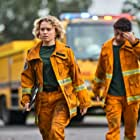 Hunter Page-Lochard and Eliza Scanlen in Fires (2021)