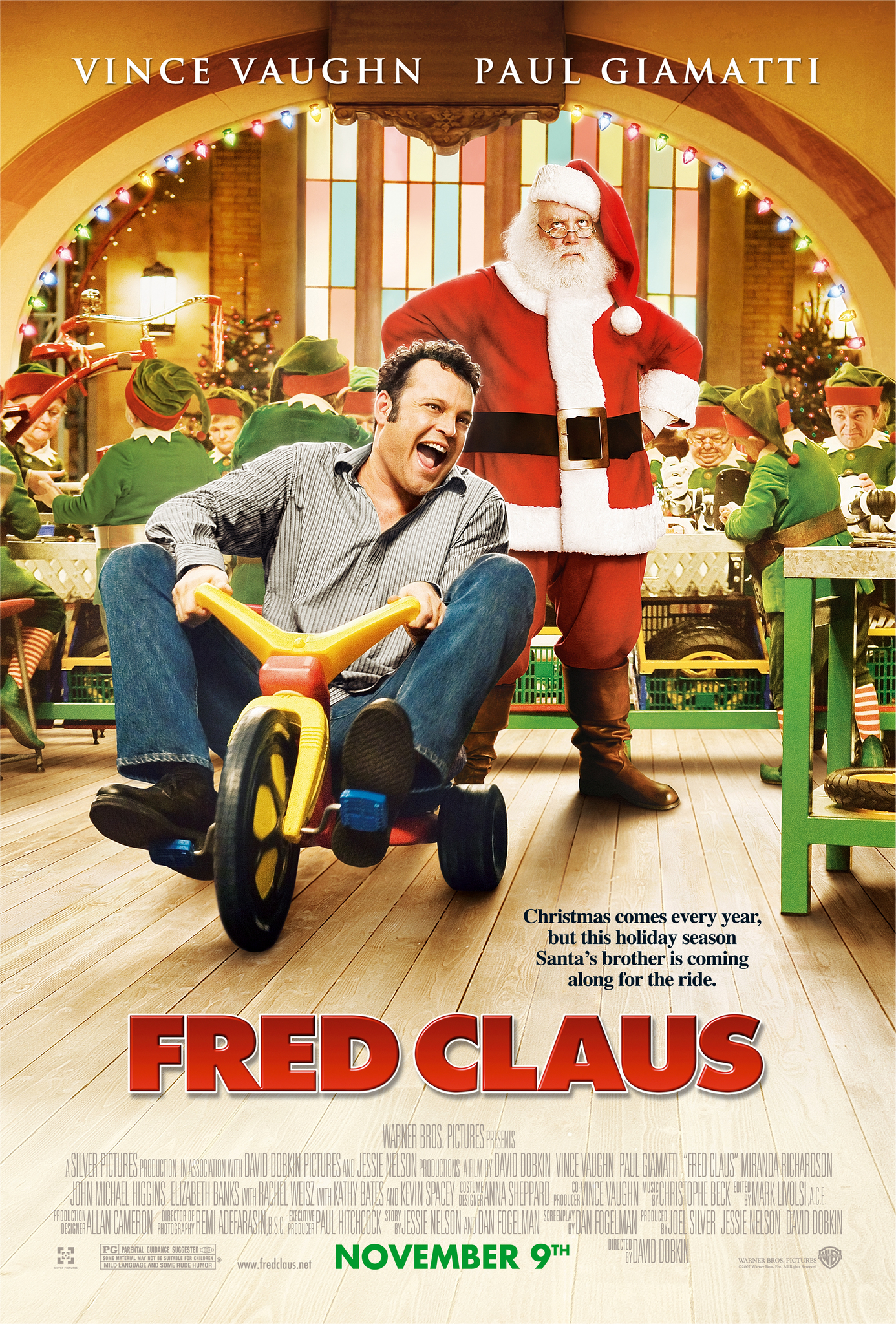 fred claus 2007 imdb - Fred Christmas