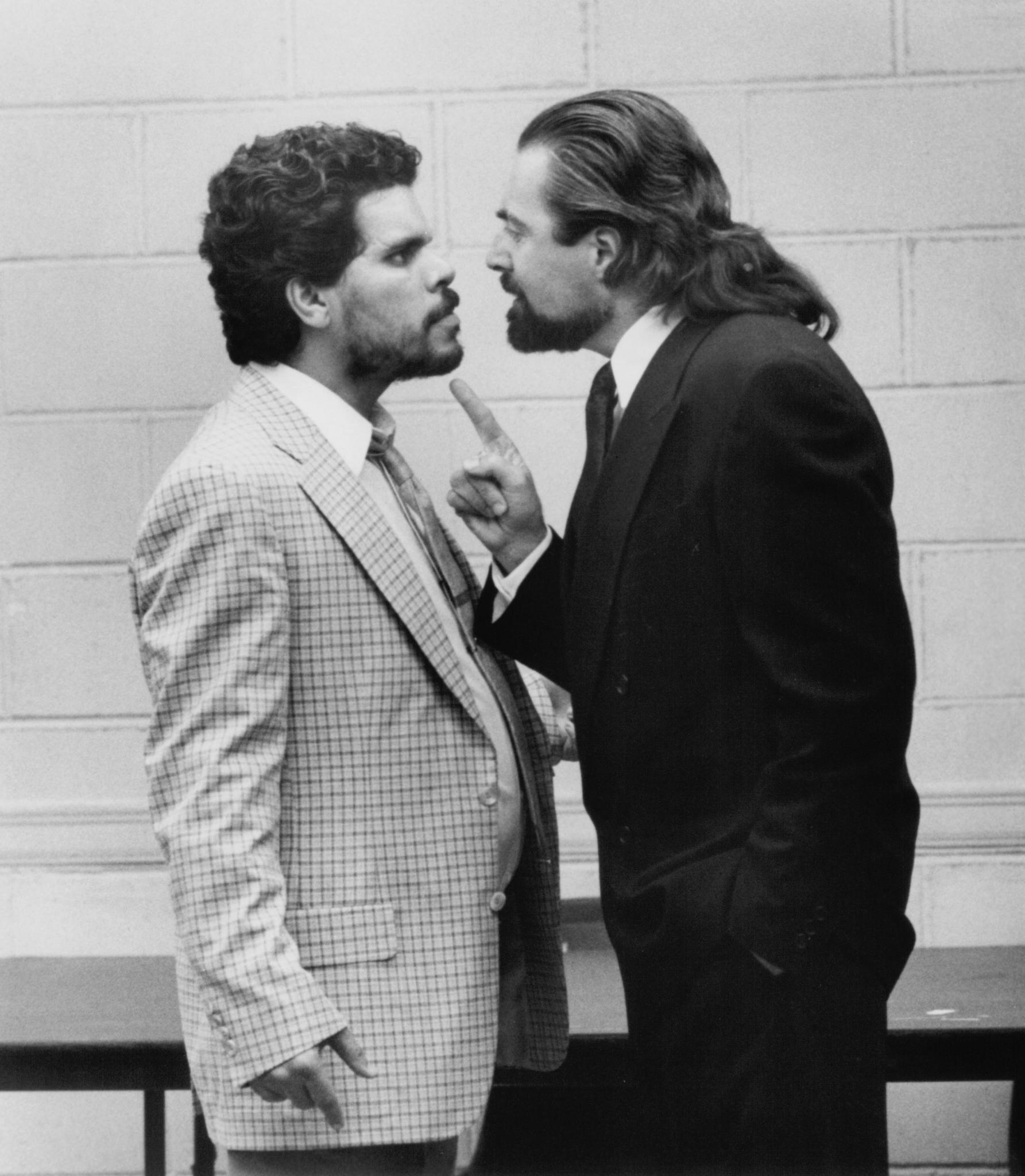 Armand Assante and Luis Guzmán in Q & A (1990)