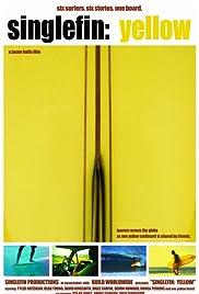 Single Fin Yellow Poster