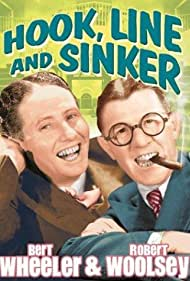 Bert Wheeler and Robert Woolsey in Hook Line and Sinker (1930)