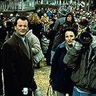 Bill Murray, Andie MacDowell, and Chris Elliott in Groundhog Day (1993)