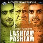 Om Puri, Samar Virmani, and Vibhav Roy in Lashtam Pashtam (2018)