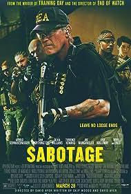 Arnold Schwarzenegger, Terrence Howard, Mireille Enos, Joe Manganiello, Olivia Williams, and Sam Worthington in Sabotage (2014)