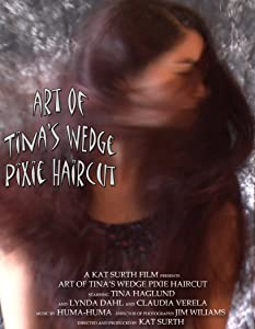 Watch free movie online Art of Tina's Wedge Pixie Haircut! by none [640x640]