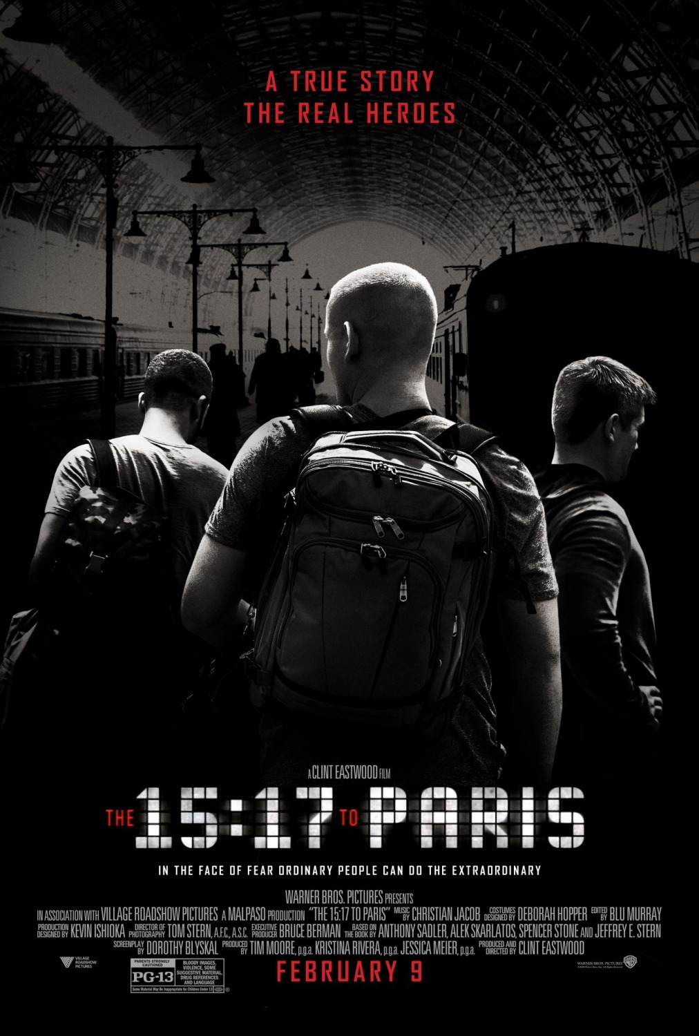 15:17 Į PARYŽIŲ (2018) / THE 15:17 TO PARIS