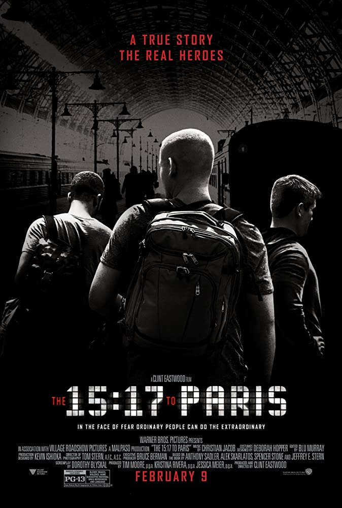 15:17 Į Paryžių / The 15:17 to Paris (2018) online