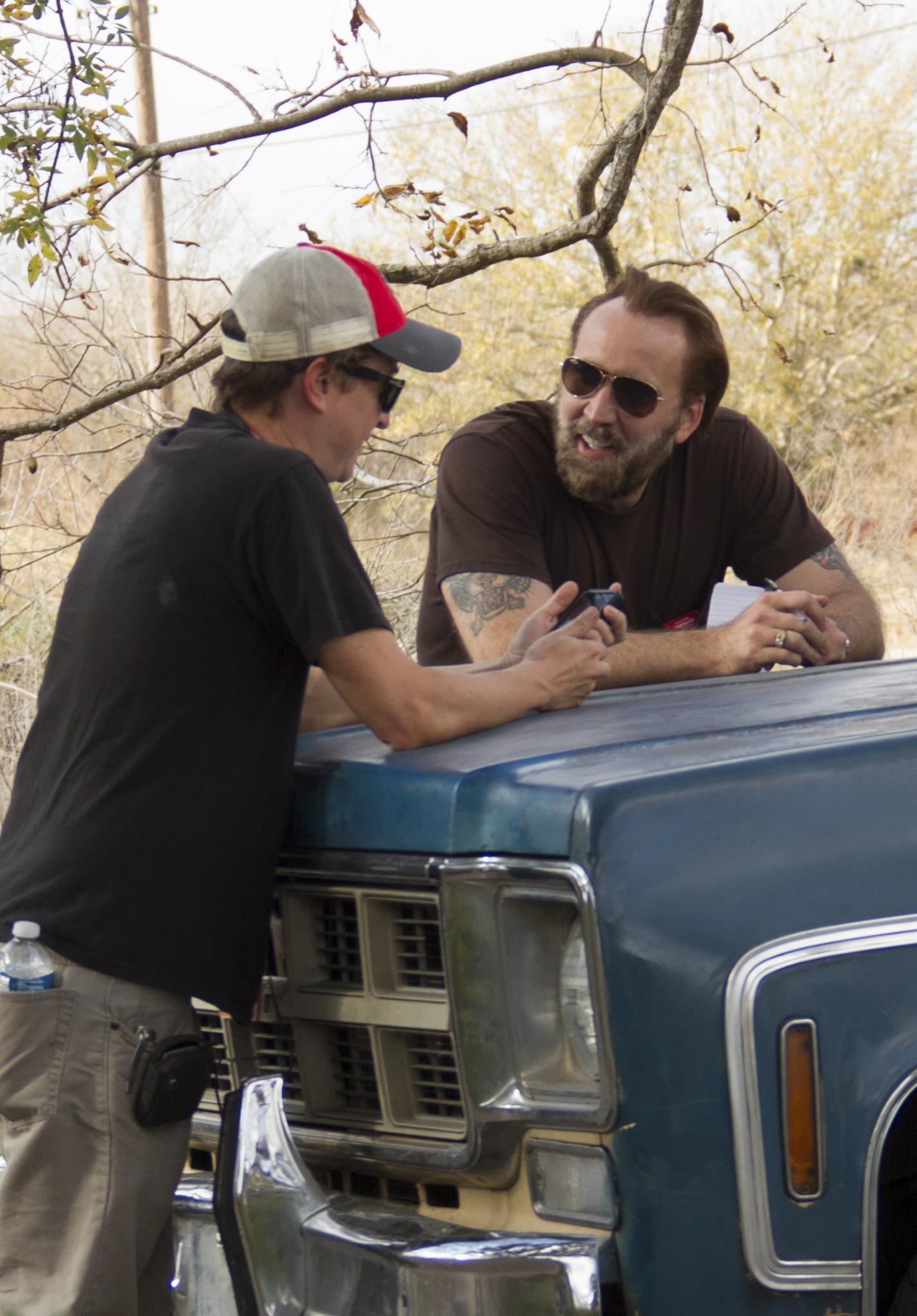 Nicolas Cage and David Gordon Green in Joe (2013)