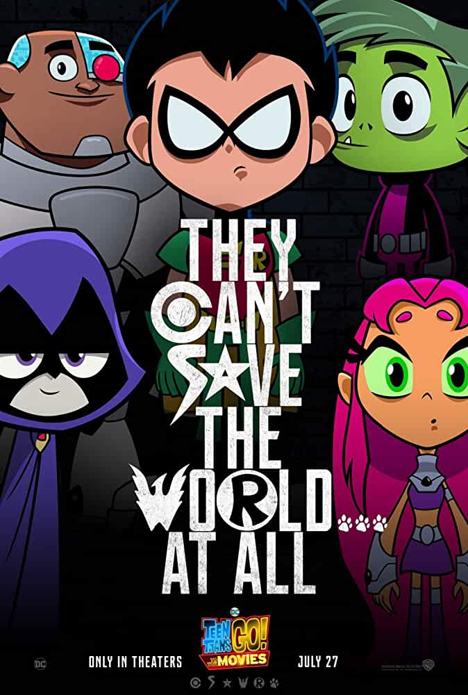 Teen Titans Go To the Movies 2018 BluRay 480p 720p 1080p Direct Link