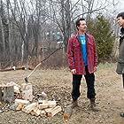 Benjamin Bratt and Joel Evans in The Lesser Blessed (2012)