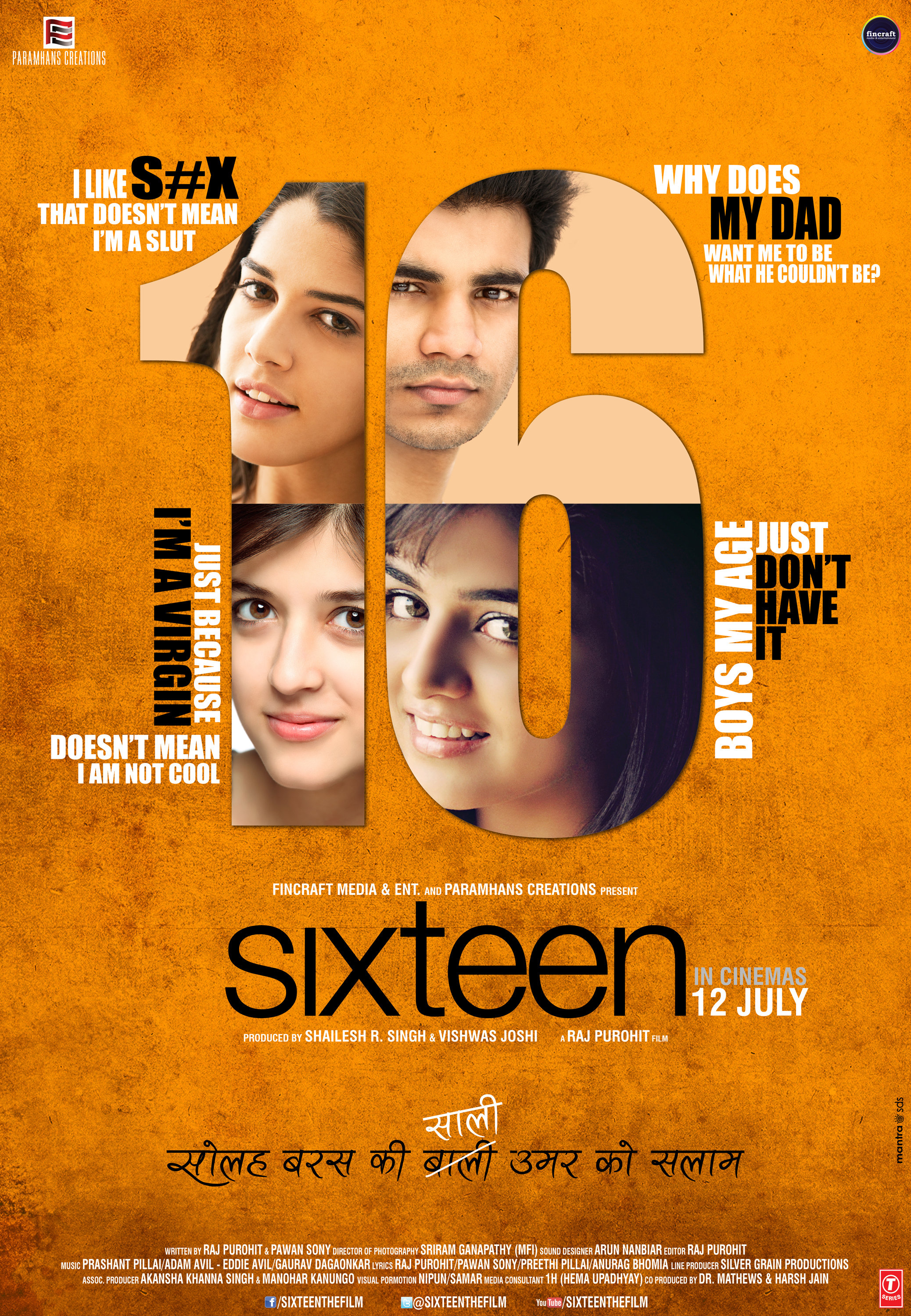 Wamiqa Gabbi, Mehak Manwani, Izabelle Leite, and Highphill Mathew in Sixteen (2013)