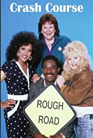 Tina Yothers, Jackée Harry, Edie McClurg, and Charles Robinson in Crash Course (1988)