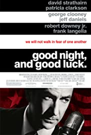 Good Night, and Good Luck. (2005) Poster - Movie Forum, Cast, Reviews