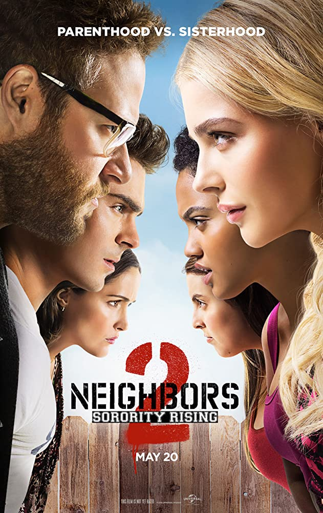 Neighbors 2: Sorority Rising (2016) Hindi Dubbed