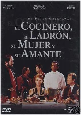 Helen Mirren, Michael Gambon, Richard Bohringer, and Alan Howard in The Cook, the Thief, His Wife & Her Lover (1989)