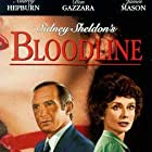 Audrey Hepburn and Ben Gazzara in Bloodline (1979)