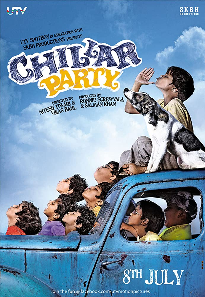 Chillar Party (2011) Hindi Movie 480p BluRay 300MB Download