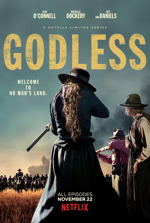 Dievo pamirštas (1 Sezonas) / Godless Season 1
