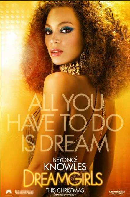 Dreamgirls 2006 Dual Audio Hindi 490MB BluRay ESub Download
