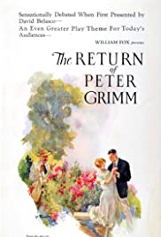 The Return of Peter Grimm Poster