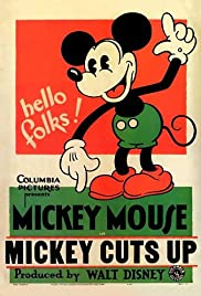 Mickey Cuts Up Poster